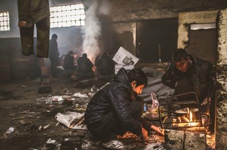 Dan s izbjeglicama 'zarobljenima' u Beogradu