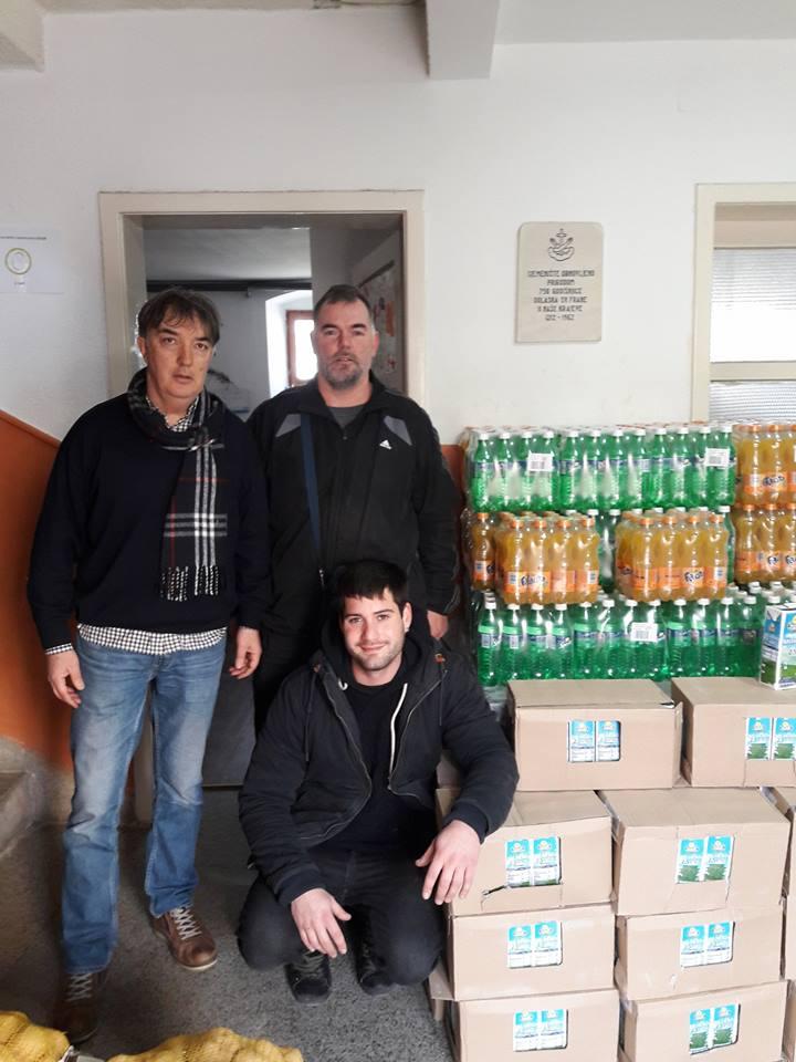 Tradicionalna donacija Trgovinskog saveza socijalnoj samoposluzi u Zadru