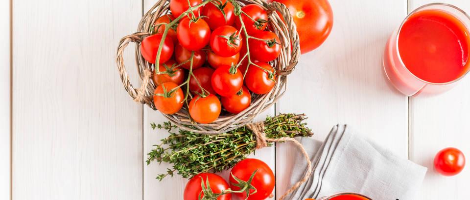 Sok od rajčice osvježava i štiti organizam