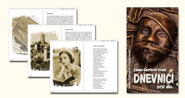 """moja nova knjiga: """"DNEVNICI - 1- DIO"""