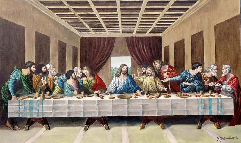 Veliki četvrtak, Isusova posljednja večera