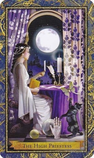 Čarobnjački tarot - Visoka svećenica (Profesorica proricanja, zaštitinica proroka)