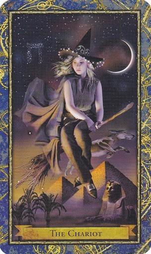 Čarobnjački tarot - Kola  (Profesor astronomije, Astralna putovanja)