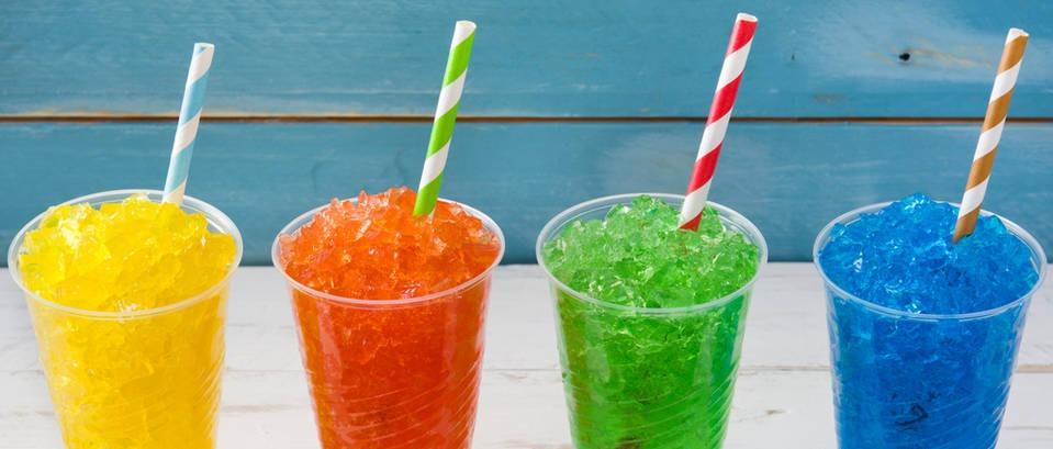 Slushy - zdravo osvježenje od leda i voća u čaši