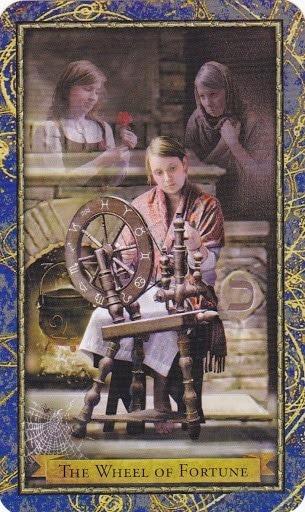Čarobnjački tarot - Kolo Sreće  (Savjetnik, Smjernice, Upute)