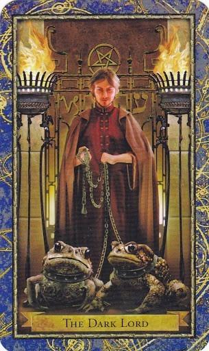 Čarobnjački tarot - GOSPODAR TAME ( XV - Đavo u RW) - (Ravnatelj mračnih sila)