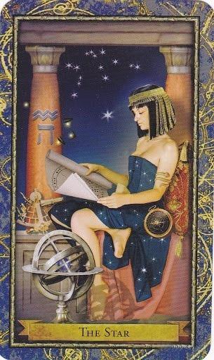 Čarobnjački tarot - Zvijezda (Profesor astronomije, zaštitnica astrologije)