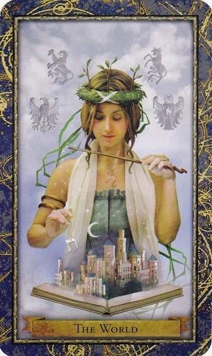 Čarobnjački tarot – Svijet (Kraljica vještičarenja, vještaca, vještica i ostalih čarobnjaka)