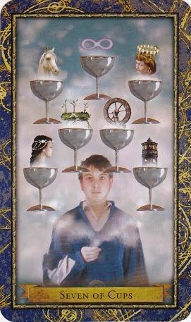 Čarobnjački tarot - 7 pehara (Snaga čuda)
