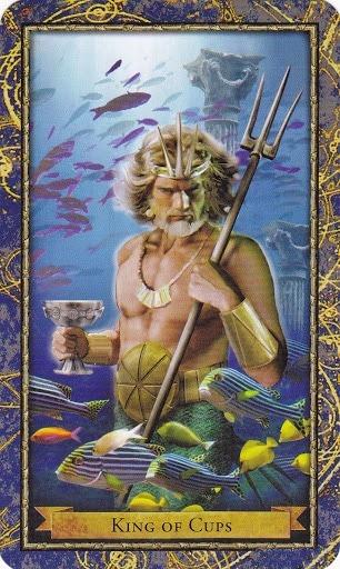 Čarobnjački tarot - Kralj pehara (Vladar Država - inteligencija, iskustvo, vlast)
