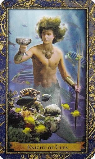Čarobnjački tarot - Vitez pehara (Heroj iz vode)