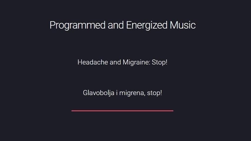 Glavobolja i migrena, stop!