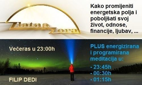 Zlatna zora: energetska polja, freestyle i meditacija (1-2-3)