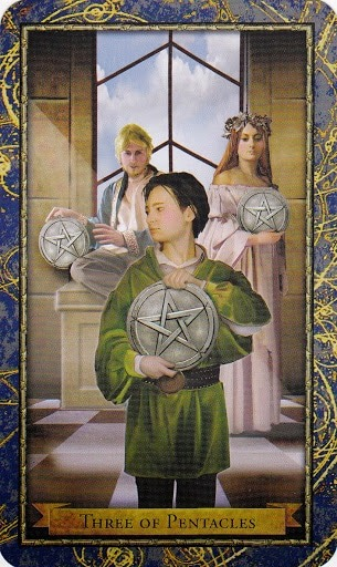Čarobnjački tarot - 3 diskova (Snaga čuda - stručnost, domišljatost)