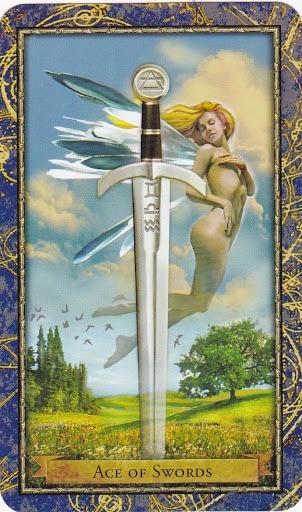 Čarobnjački tarot - As mačeva (Snaga čuda)