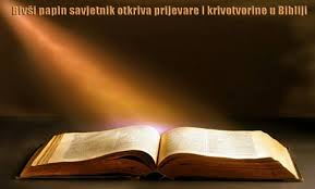 BIBLIJSKA PRIJEVARA - što je Crkva pokušala skriti
