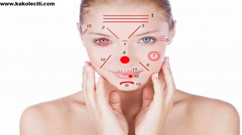 Vaše lice pokazuje koliko ste zdravi
