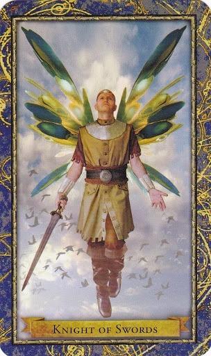 Čarobnjački tarot - Vitez mačeva (Heroj zraka)