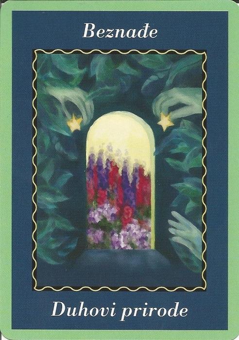 Značenja karata - Beznađe 1(duhovi prirode)
