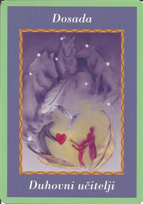 Karte duhovnih vodiča - Dosada 6 (Duhovniučitelji)