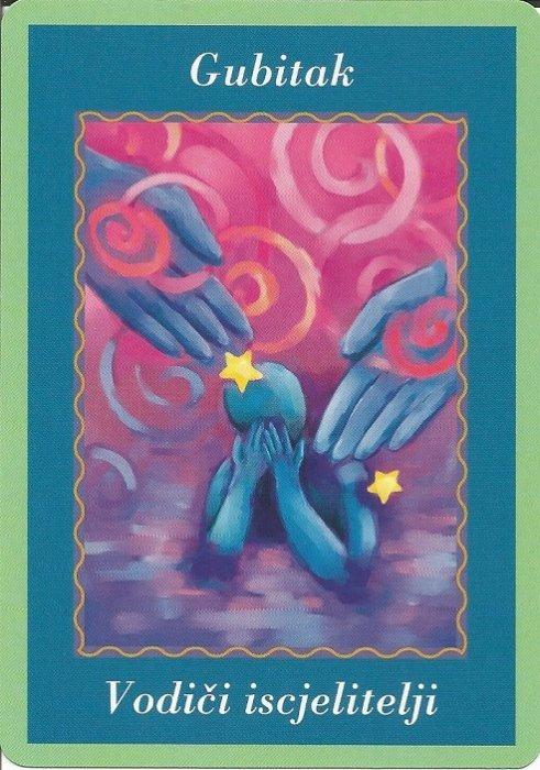 Karte duhovnih vodiča - Gubitak 8 (Vodičiiscjelitelji)