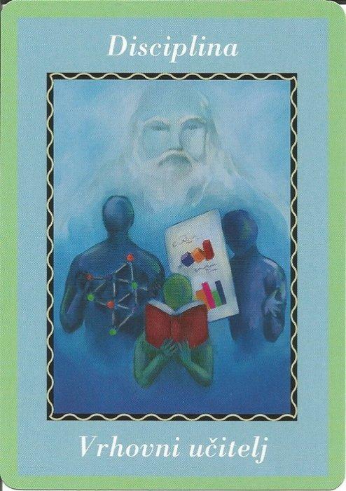 Karte duhovnih vodiča - Disciplina 5 (Vrhovniučitelj)