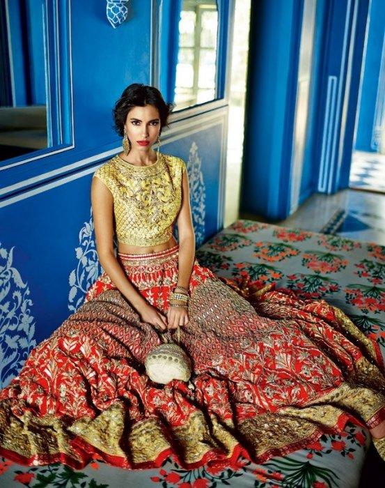 Indijska moda