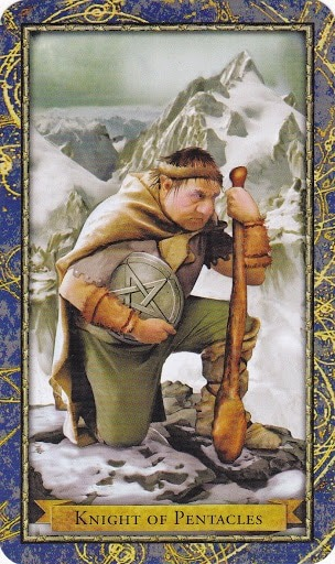 Čarobnjački tarot - Vitez diskova (Heroj Zemlje)