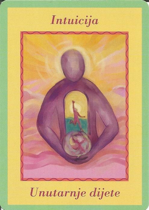 Karte duhovnih vodiča - Intuicija 10 (Unutarnje dijete)