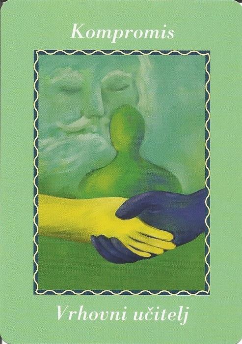 Karte duhovnih vodiča - Kompromis 13 (Vrhovni učitelj)