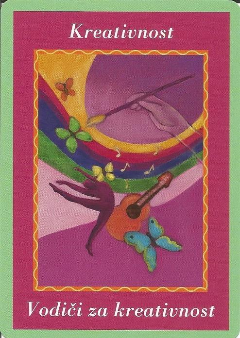 Karte duhovnih vodiča - Kreativnost 14 (Vodiči za kreativnost)