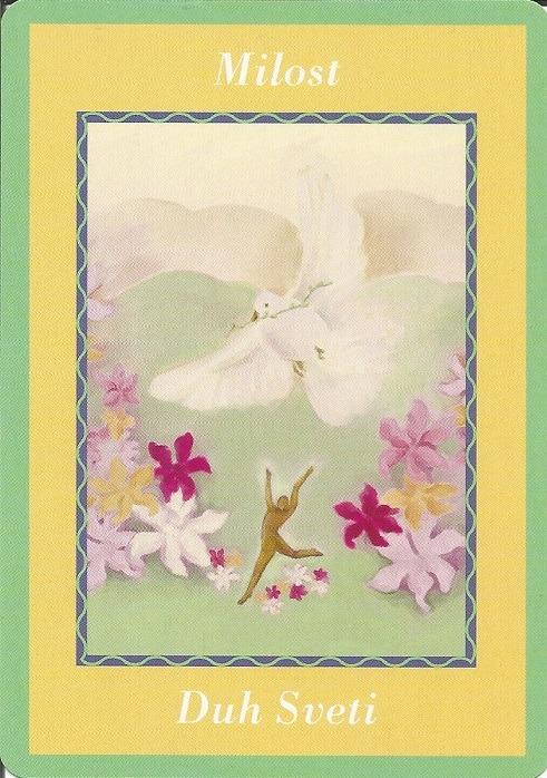 Karte duhovnih vodiča - Milost 17  (Duh Sveti)