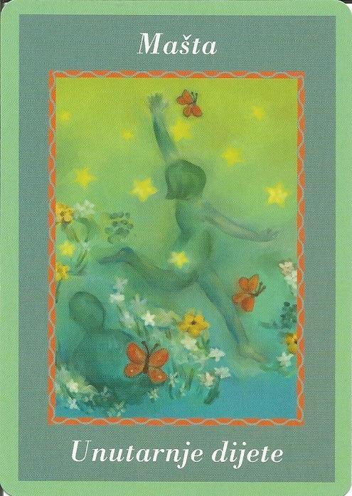 Karte duhovnih vodiča - Mašta 16 (Unutarnje dijete)