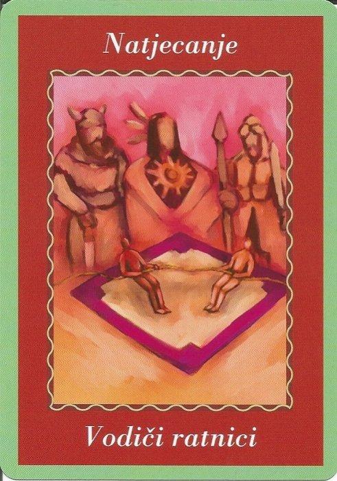 Karte duhovnih vodiča - Natjecanje 18  (Vodiči ratnici)