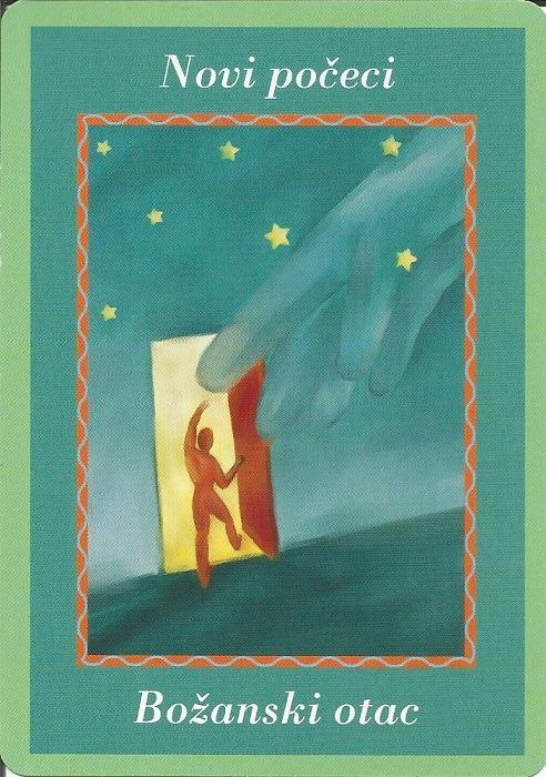 Karte duhovnih vodiča - Novi počeci 20  (Božanski otac)