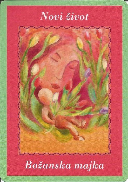 Karte duhovnih vodiča - Novi život 21  (Božanska majka)