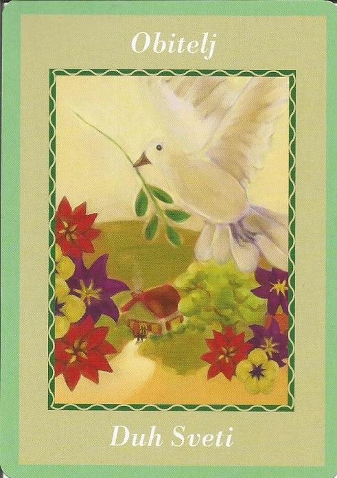 Karte duhovnih vodiča - Obitelj 22  (Duh Sveti)