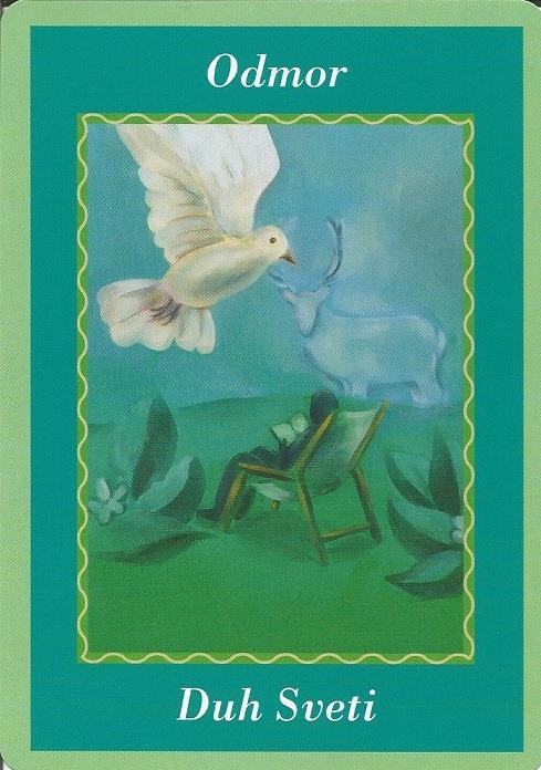 Karte duhovnih vodiča - Odmor 24  (Duh Sveti)
