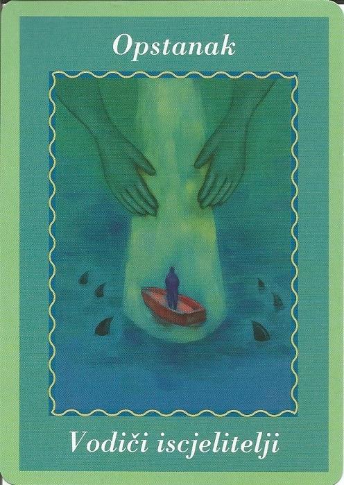 Karte duhovnih vodiča - Opstanak 25  (Vodiči iscjelitelji)