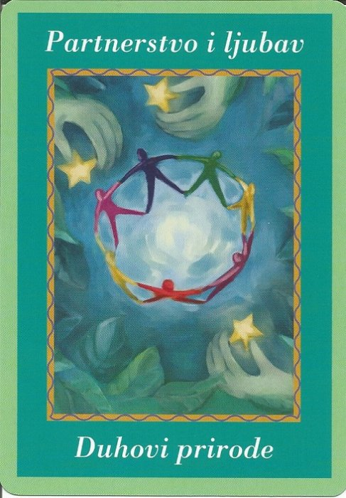 Karte duhovnih vodiča - Partnerstvo i ljubav 27  (Duhovi prirode)