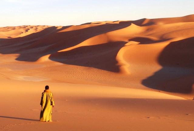 test osobnosti - pustinja