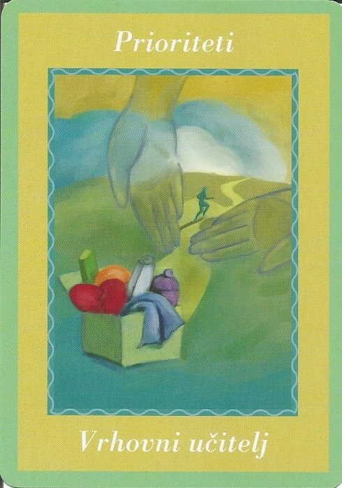 Karte duhovnih vodiča - Prioriteti 34  (Vrhovni učitelj)