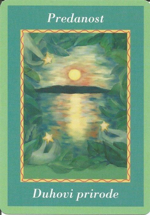 Karte duhovnih vodiča - Predanost 32  (Duhovi prirode)