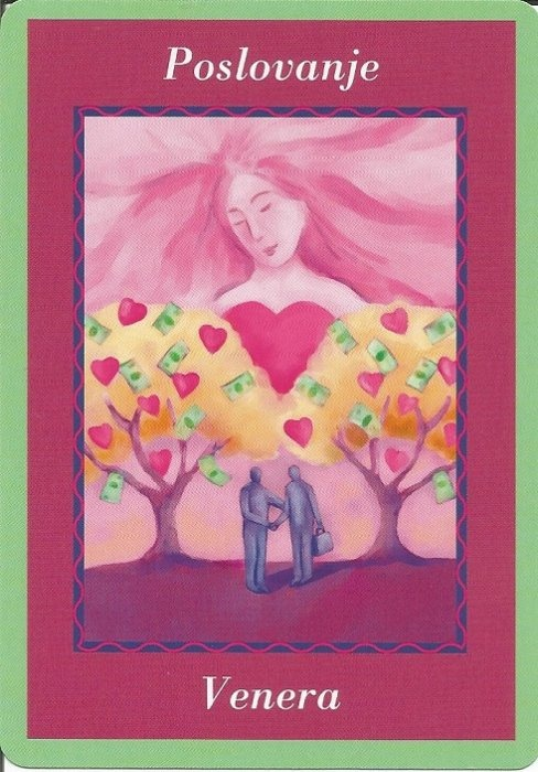 Karte duhovnih vodiča - Poslovanje 31  (Venera)