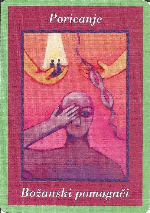 Karte duhovnih vodiča - Poricanje 30  (Božanski pomagači)