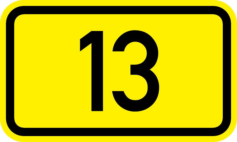 UPITNIK - 13 JE SRETAN BROJ