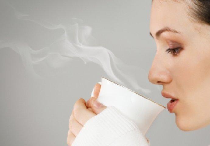 Vruća prokuhana voda - najjeftiniji lijek