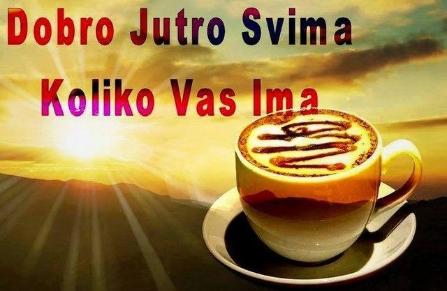 Dobro jutro...!