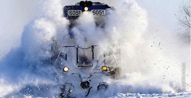 Snijeg odgađa proslavu rođendana našeg portala...