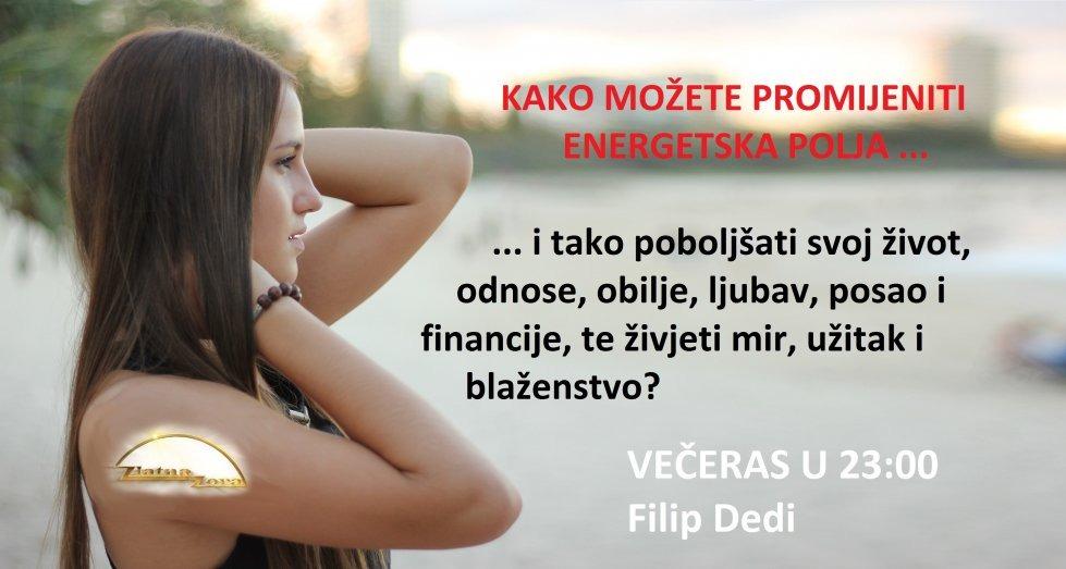 Večeras nova emisija ... Live stream na www.ZlatnaZora.hr ili TV Jabuka.